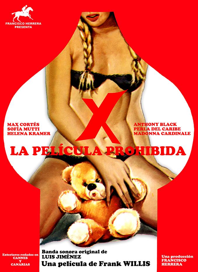 X LA PELÍCULA PROHIBIDA CARTEL BAJA RESOLUCION